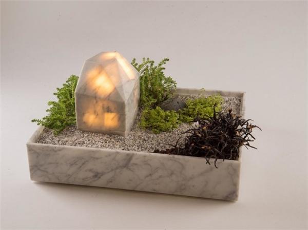 温馨的花盆台灯(十二)