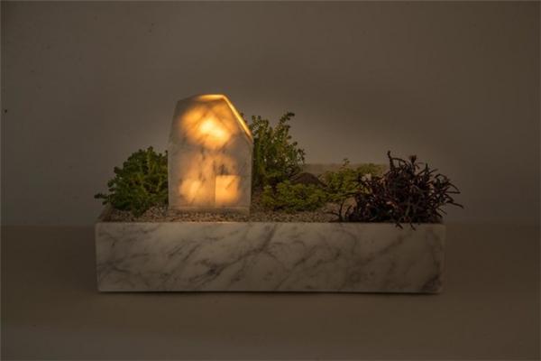 温馨的花盆台灯(十三)