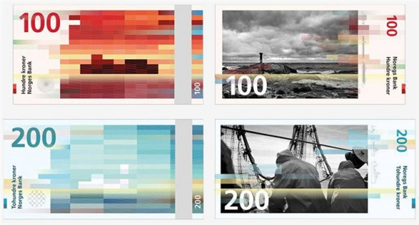 挪威国家纸币可以自己设计