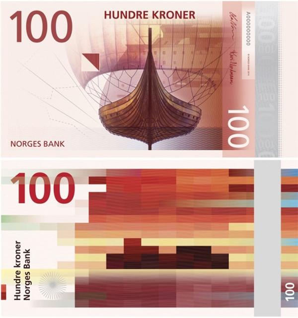挪威国家纸币可以自己设计(二)