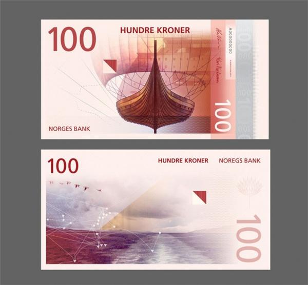 挪威国家纸币可以自己设计(三)