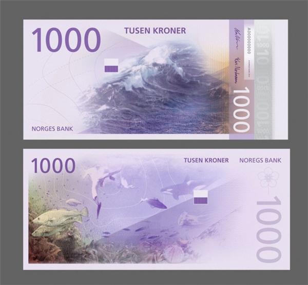 挪威国家纸币可以自己设计(四)