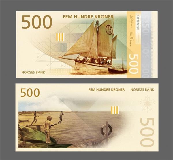 挪威国家纸币可以自己设计(五)