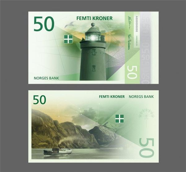 挪威国家纸币可以自己设计(六)