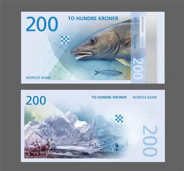 挪威国家纸币可以自己设计(七)