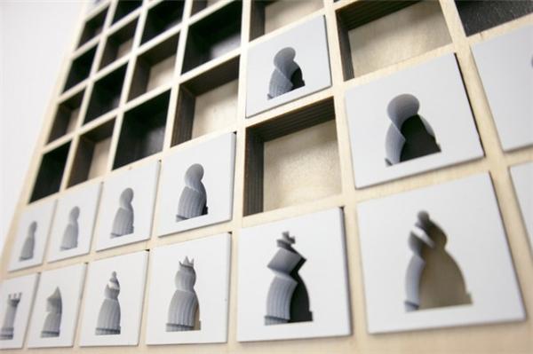 新颖的壁挂式国际象棋(五)