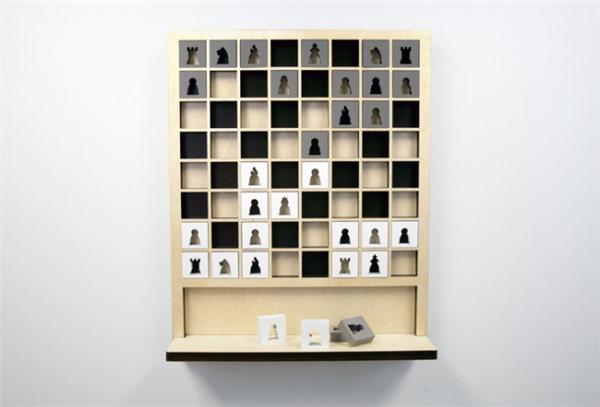 新颖的壁挂式国际象棋(六)