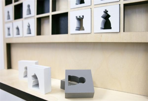 新颖的壁挂式国际象棋(七)