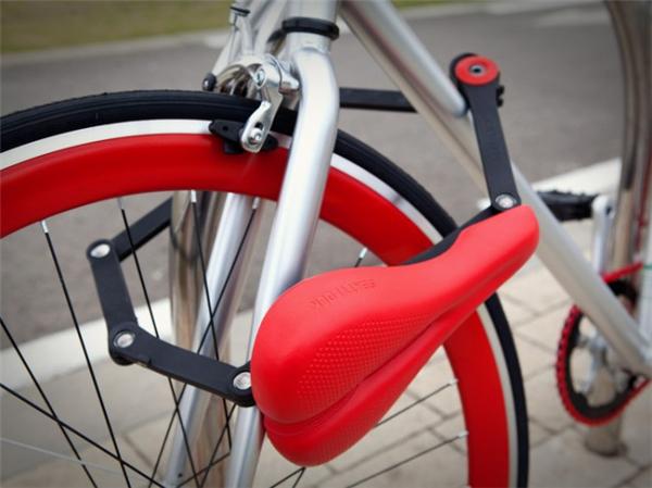 自行车鞍锁合体设计(二)