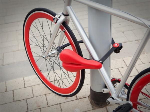 自行车鞍锁合体设计(三)