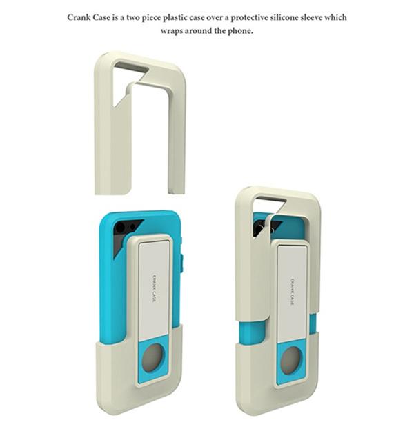 自给自足的手机充电套(四)