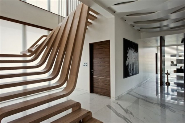 无扶手楼梯设计(三)