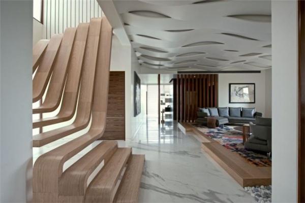 无扶手楼梯设计(四)