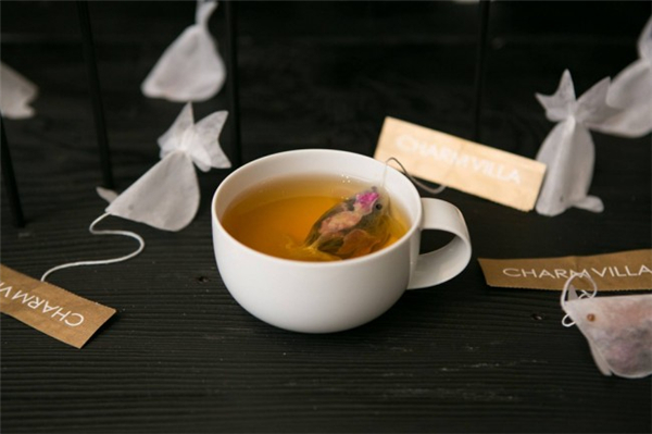 很有意思的金鱼茶包