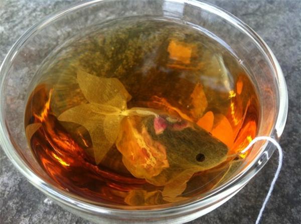 很有意思的金鱼茶包(三)