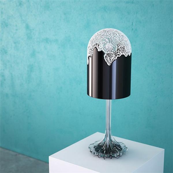 3D打印蕾丝灯设计