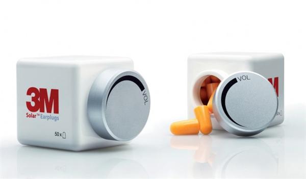 消音耳塞的趣味包装设计