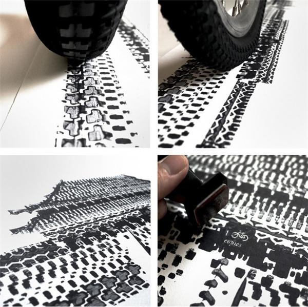 轮胎作画大法(五)