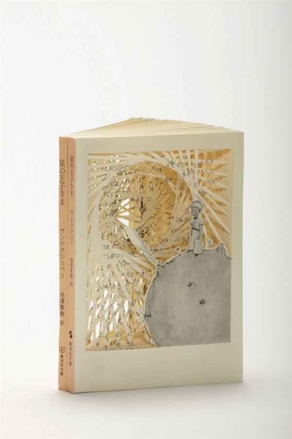 美腻的书本纸雕