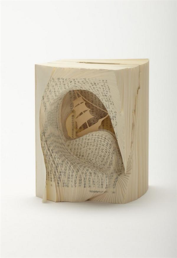 美腻的书本纸雕(八)