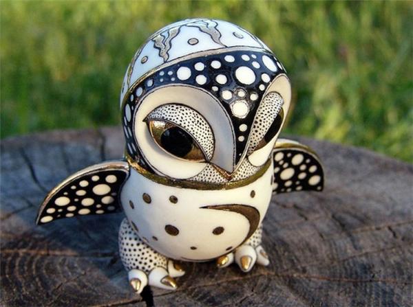 耐看的瓷质雕塑(四)