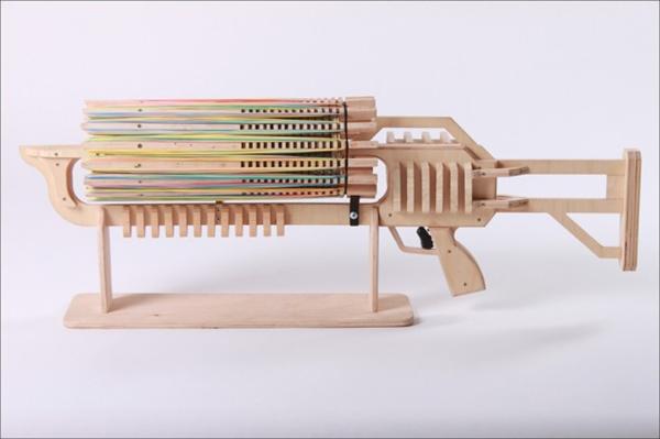 碉堡的皮筋机关枪(三)