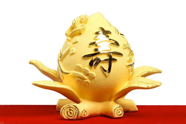 送长辈的生日礼物 - 寿桃