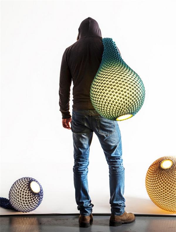 迷人的针织灯具(四)