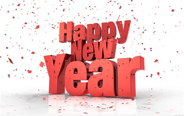 2015新年快乐创意壁纸(四)