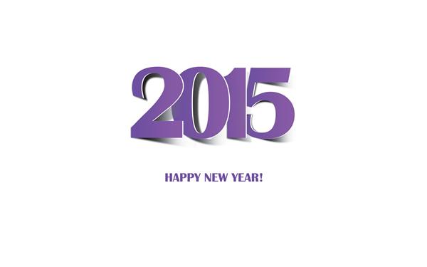 2015新年快乐创意壁纸(六)