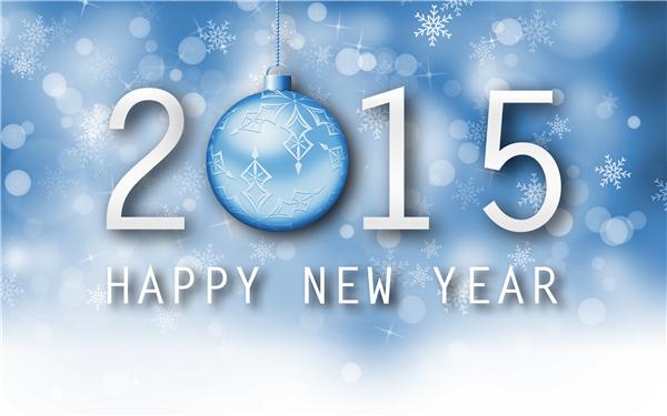 2015新年快乐创意壁纸(九)