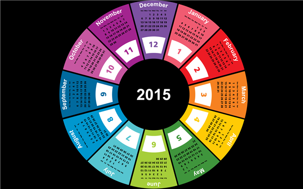2015新年快乐创意壁纸(十)