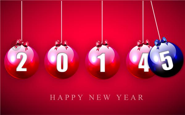 2015新年快乐创意壁纸(十一)