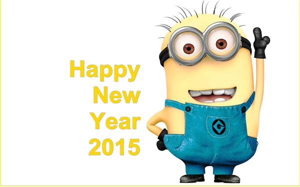 2015新年快乐创意壁纸(十二)