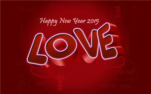 2015新年快乐创意壁纸(十五)