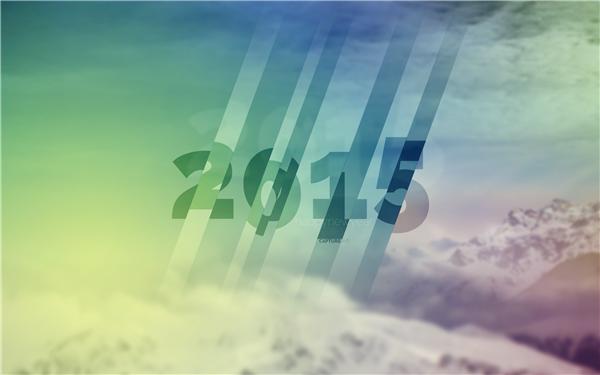 2015新年快乐创意壁纸(十六)