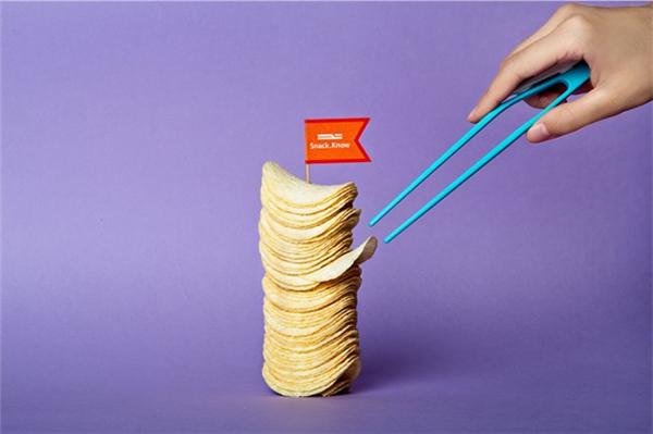 非常实用的零食夹子