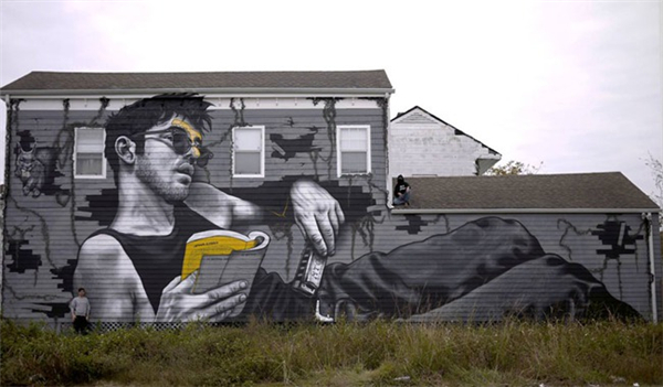 写实感的街头涂鸦(二)