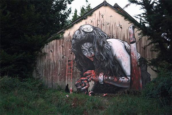 写实感的街头涂鸦(三)