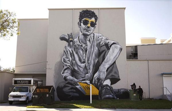 写实感的街头涂鸦(七)