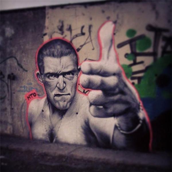 写实感的街头涂鸦(十)