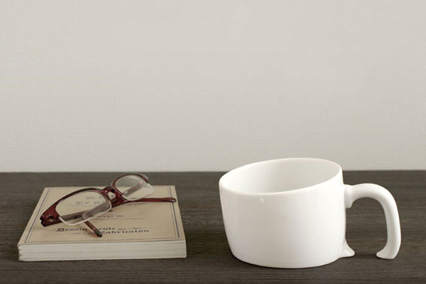 创意陶瓷下沉杯
