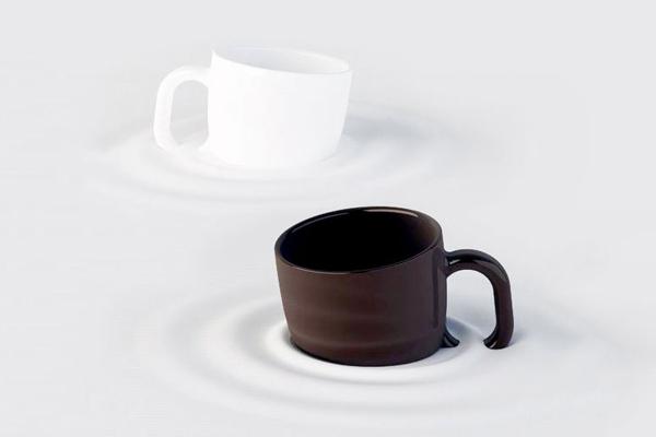 陶瓷下沉杯(三)