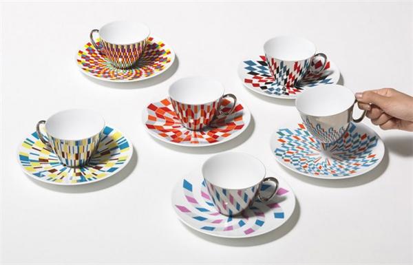镜像茶杯设计