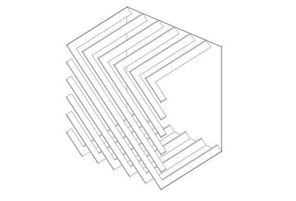 组合式模块书架(十)