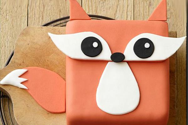 创意蛋糕 - 小狐狸