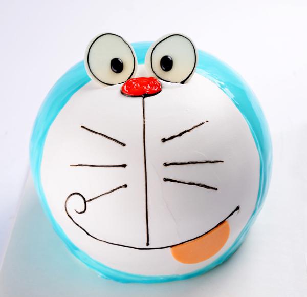 创意蛋糕 - 机器猫