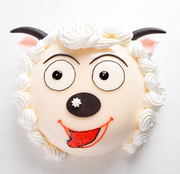 创意蛋糕 - 喜羊羊