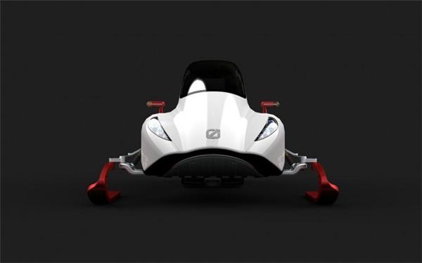 炫酷的概念雪地车设计(三)