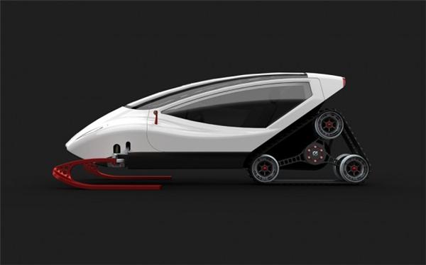 炫酷的概念雪地车设计(五)